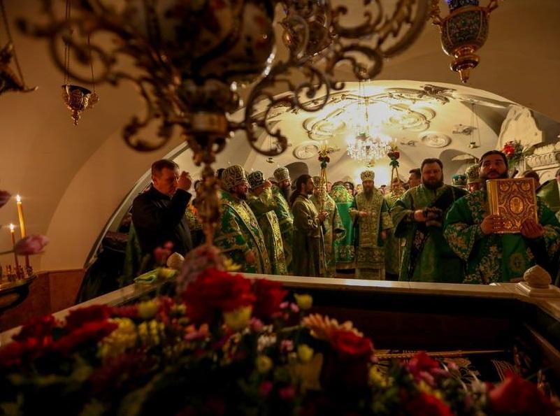 Православные киевляне почтили память преподобной Димитры Киевской / kdais.kiev.ua/