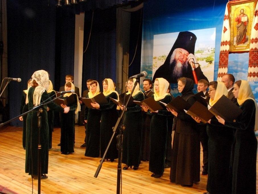Речи выступающих чередовались с пением епархиальных хоров / volyn.church.ua