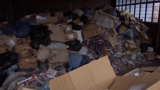 В здании хранились медицинские инструменты и человеческие останки / Скриншот