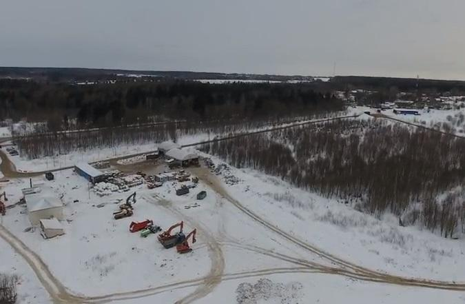 На свалке в Волоколамске произошел выброс сероводорода / Скриншот