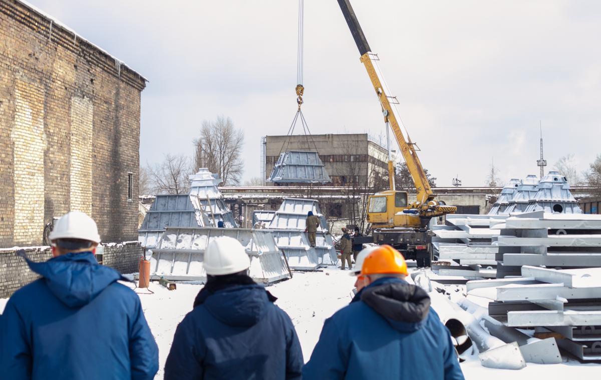 Работы планируется завершить в мае этого года / фото kyivcity.gov.ua