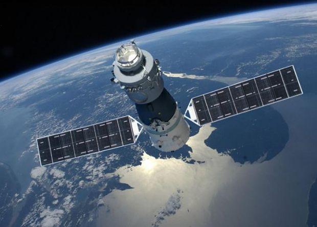Китайская орбитальная станция «Тяньгун-2» / фото CMSE