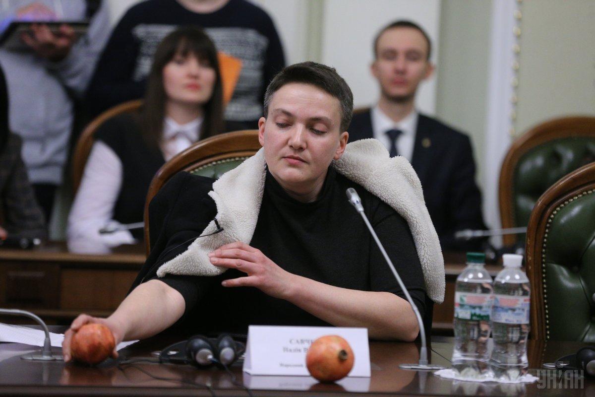 Регламентный комитет единогласно рекомендовал Раде разрешить арест Савченко / фото УНИАН