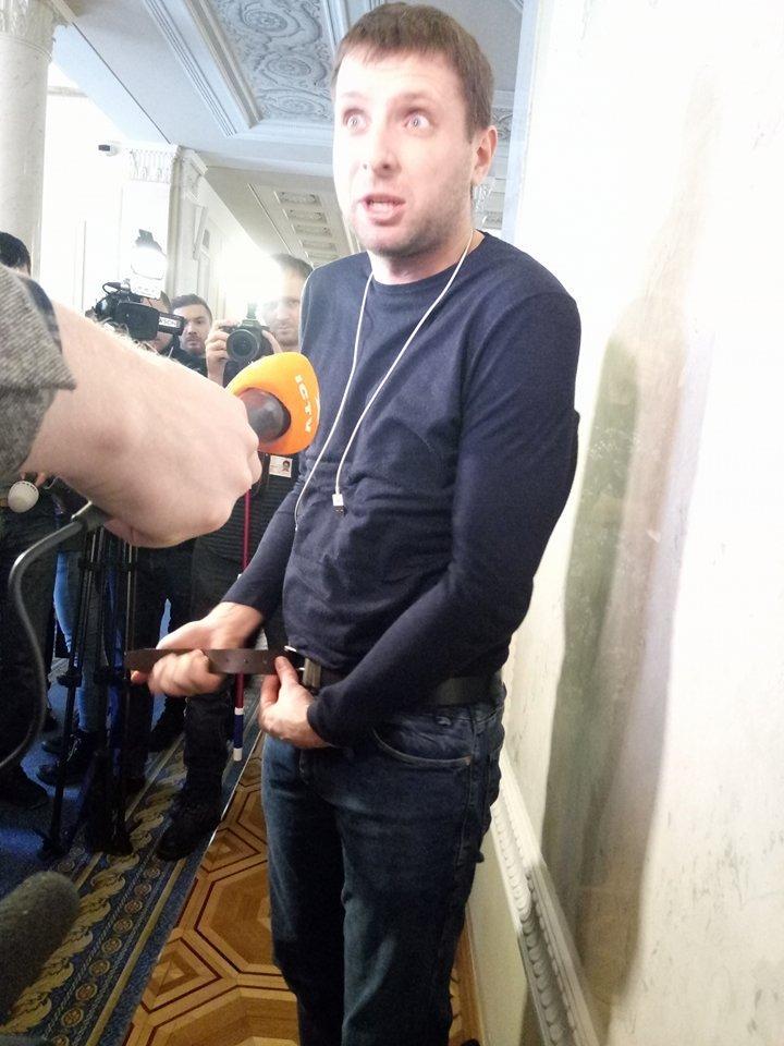 """арасюка, по его словам, """"хотели раздеть до трусов"""" / фото УНИАН"""