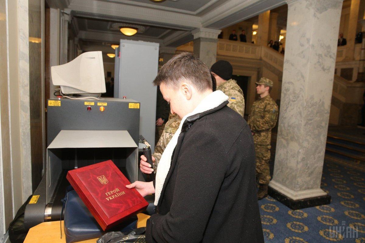 Комитет Верховной Рады дал соглашение наарест Савченко