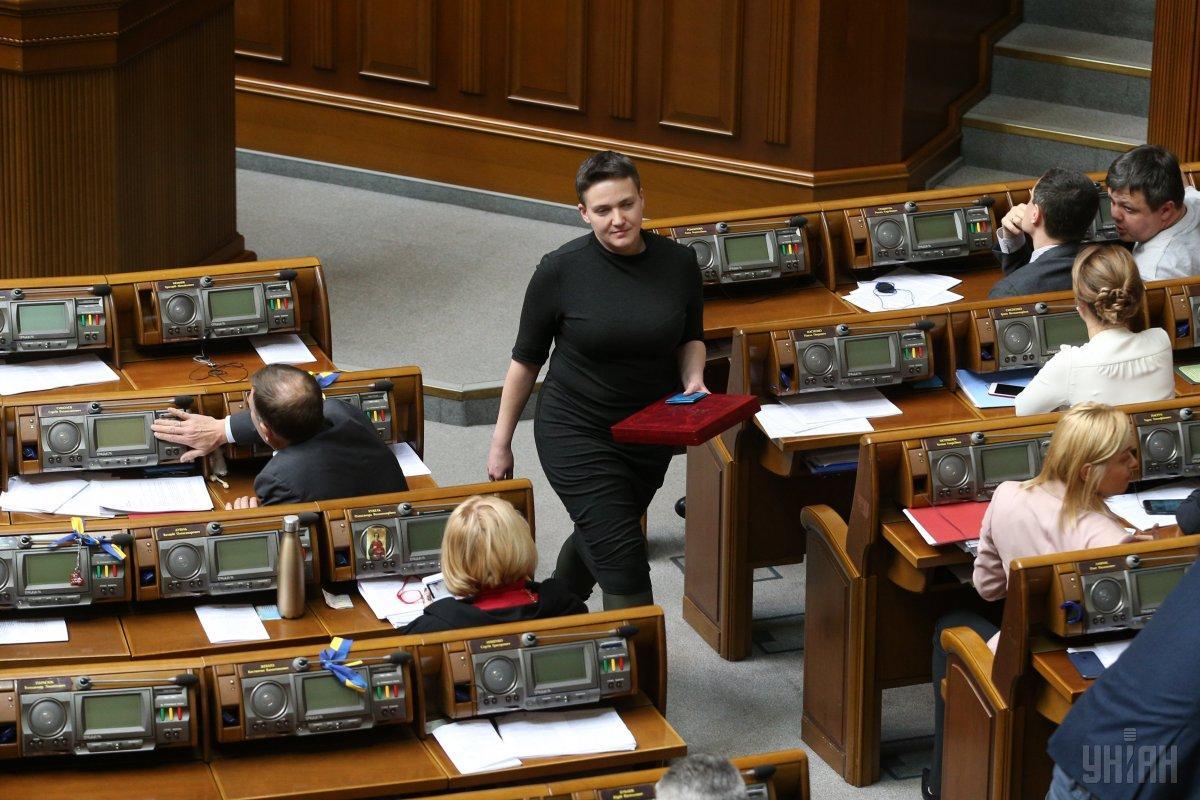 Савченко хоче повернутися в Раду / фото УНІАН