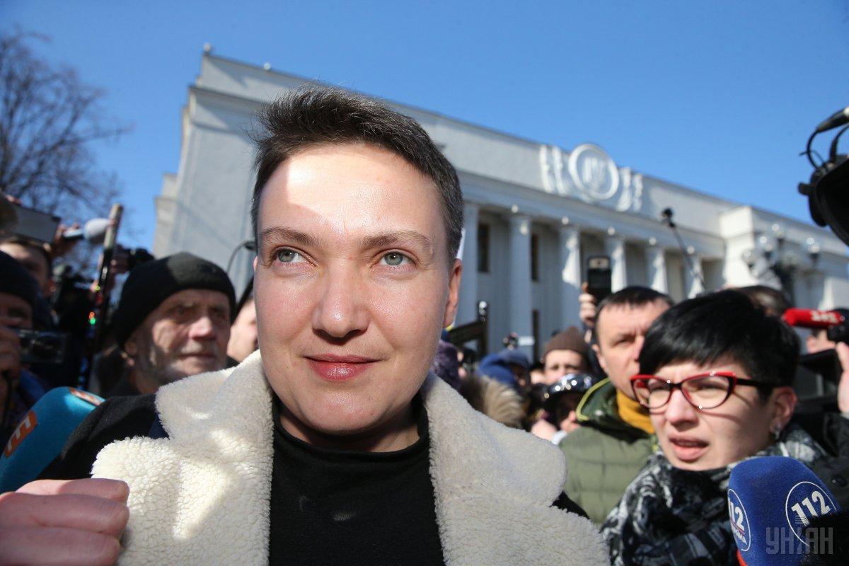 Савченко сегодня будут избирать меру пресечения / фото УНИАН