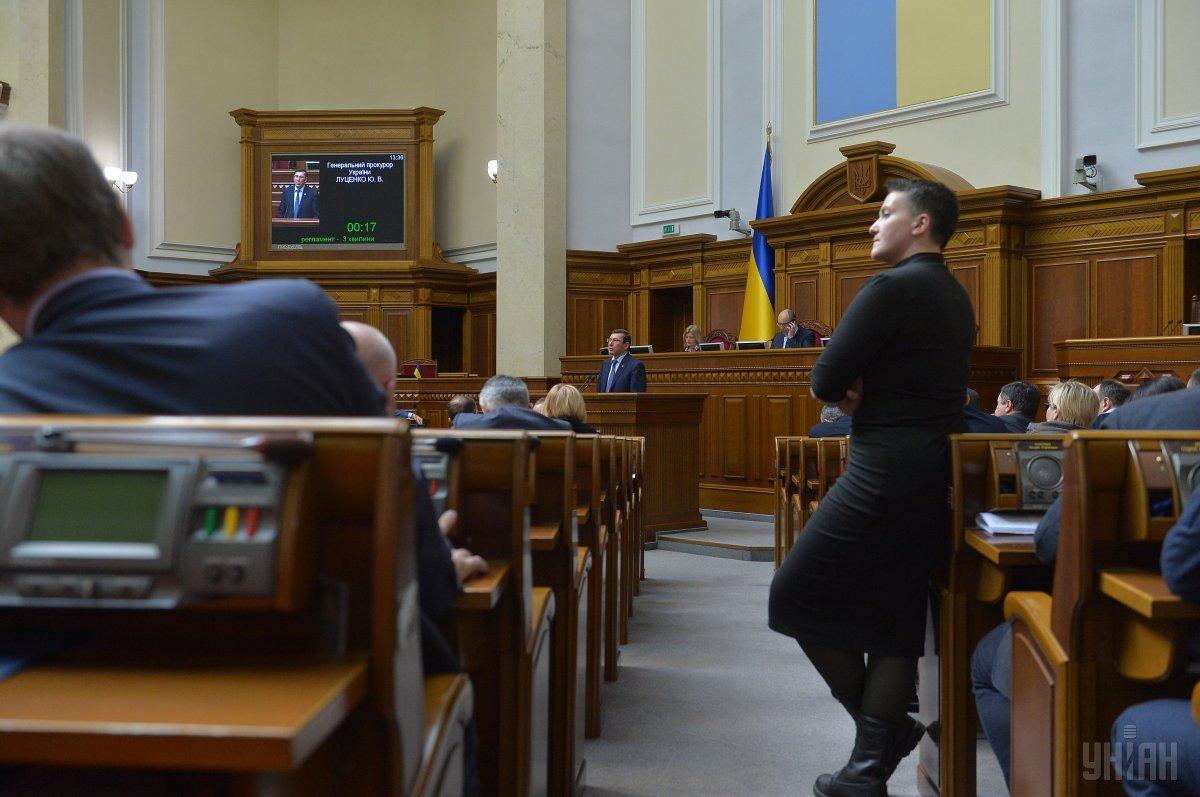 Сьогодні Савченко ознайомили із клопотанням про обрання їй запобіжного заходу / фото УНІАН