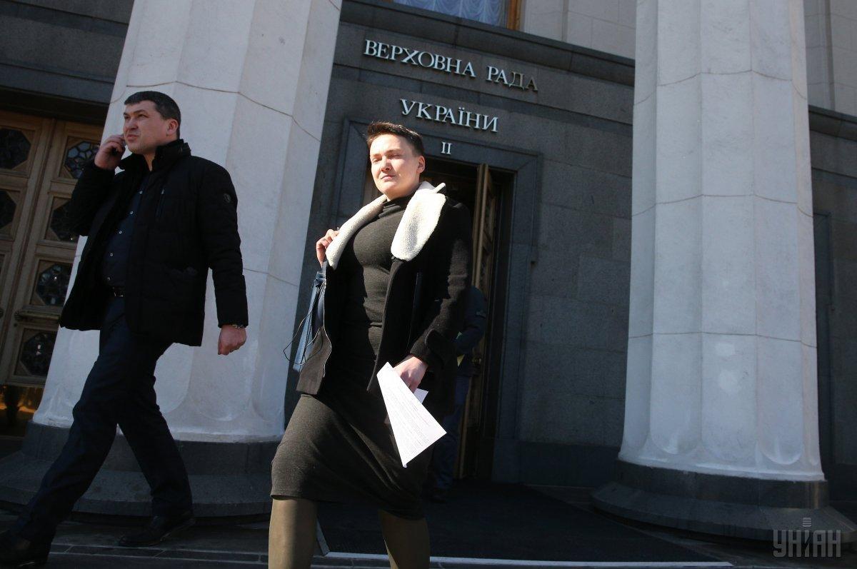 Савченко зареєструвала свій перший законопроект після звільнення із СІЗО / фото УНІАН