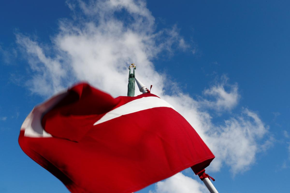Latvia is one step closer to banning the St. George ribbon / photo REUTERS