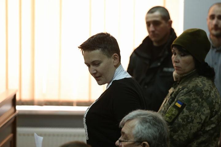 """За словами адвоката, Савченко почувається """"нормально, бадьоро і весело"""" / Фото УНІАН"""