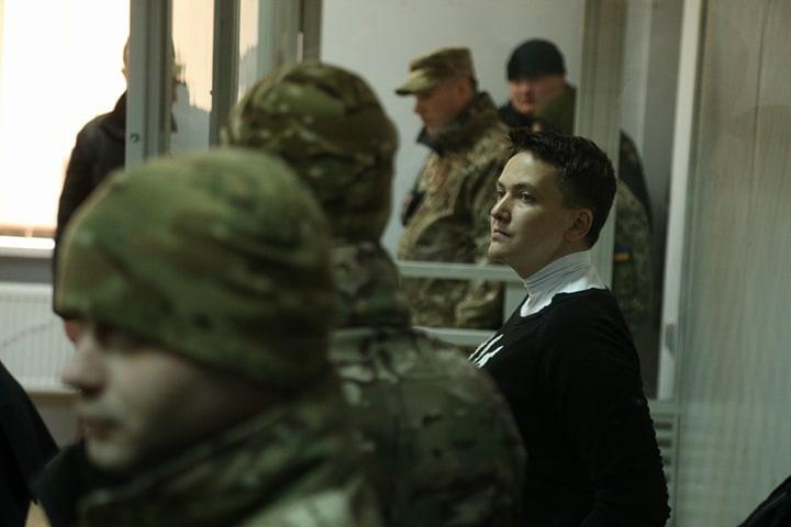 Савченко заявила в суде, что если ее оставят под стражей, то устроит голодовку / фото УНИАН