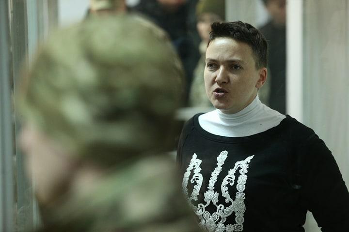 17 апреля Савченко прошла допрос с помощью полиграфа / фото УНИАН