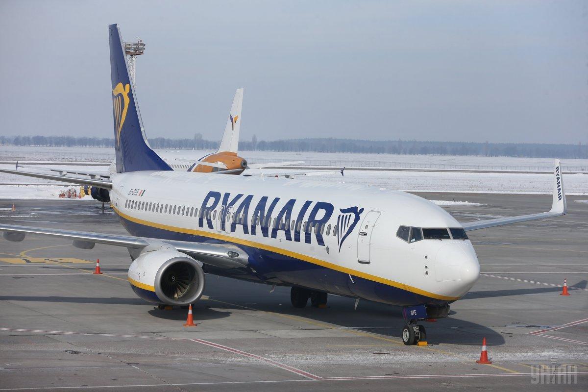 Ryanair намерен расширять свое присутствие в Украине / Фото УНИАН