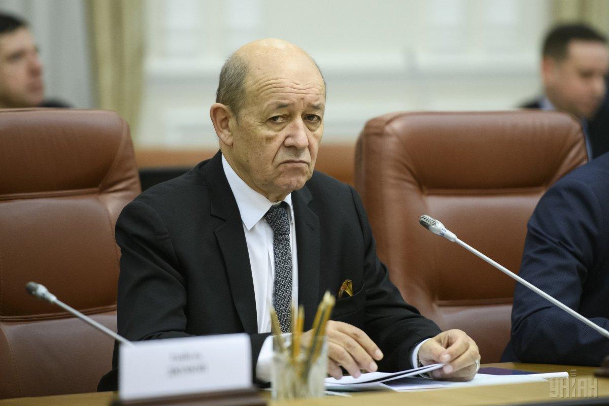 Руководитель МИД Франции: РФ - страна-агрессор