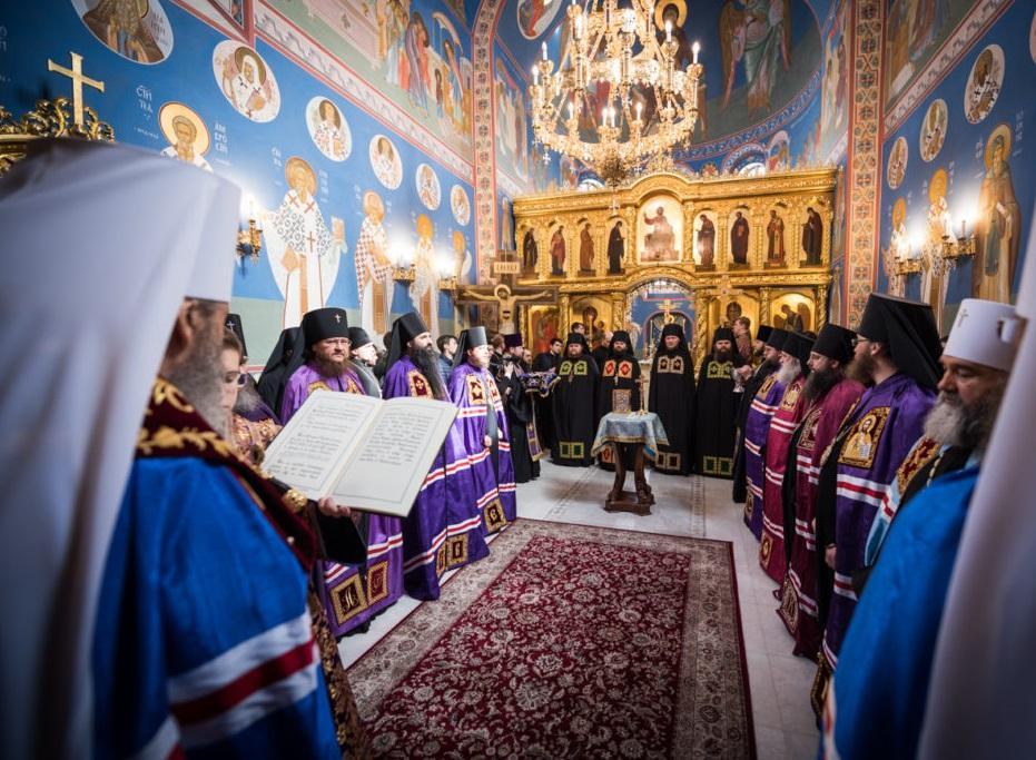 Предстоятель возглавил чин наречения новоизбранных викарных епископов / news.church.ua