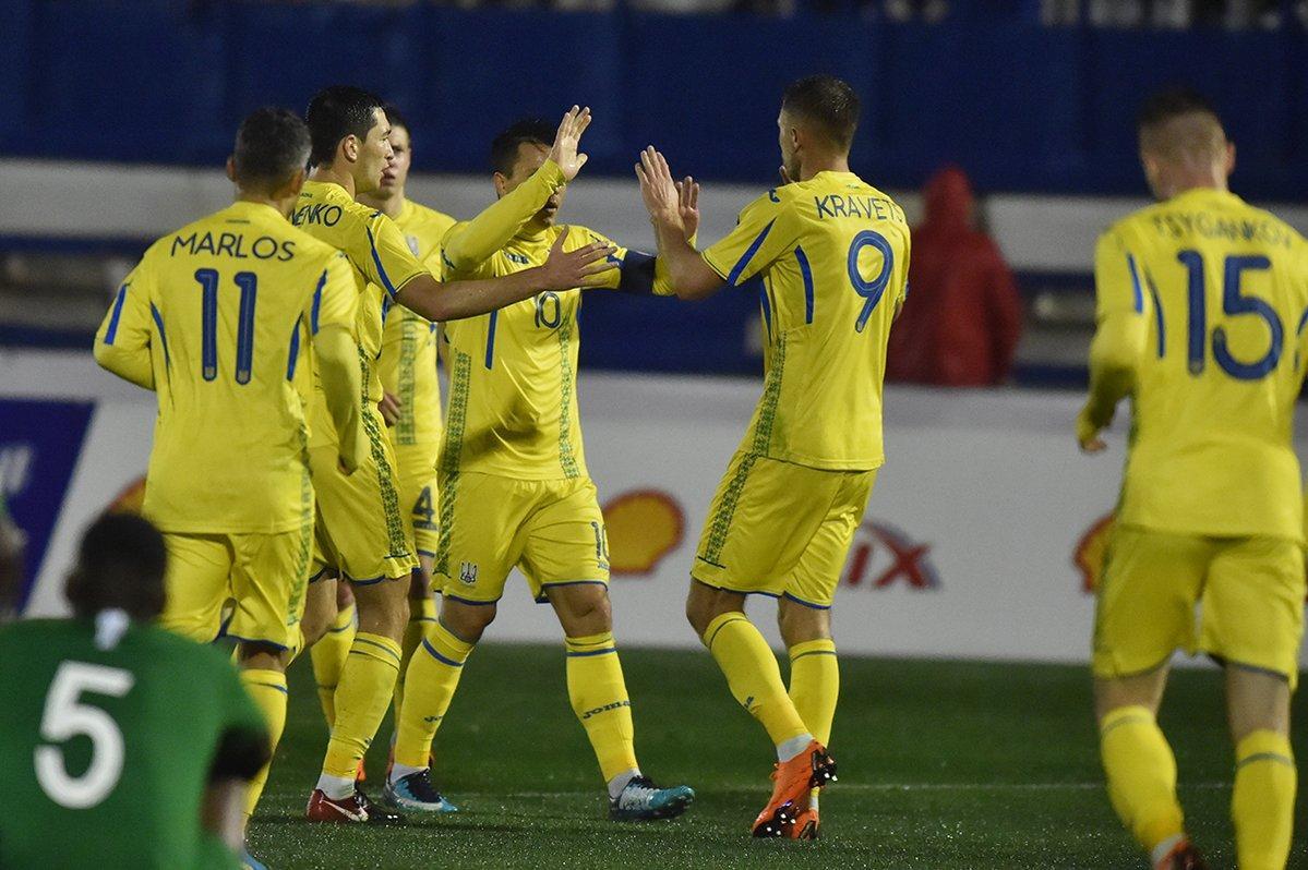 Украинцы забили один гол в ворота команды Саудовской Аравии / ffu.ua