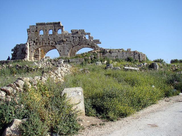 турецкий самолет нанес удар по археологической зоне Барад