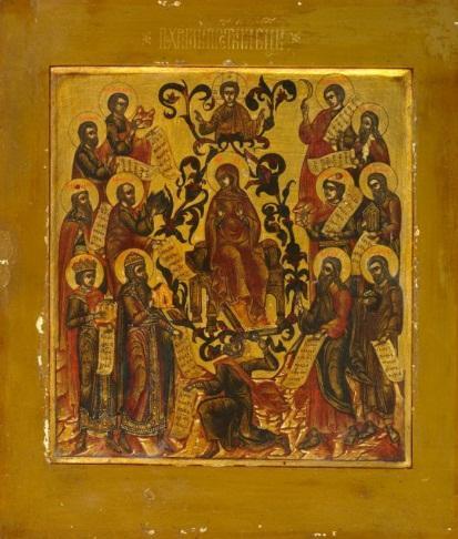 Похвала Пресвятой Богородицы, XVIII в.