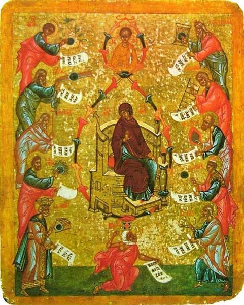 Похвала Пресвятой Богородицы, XV в.