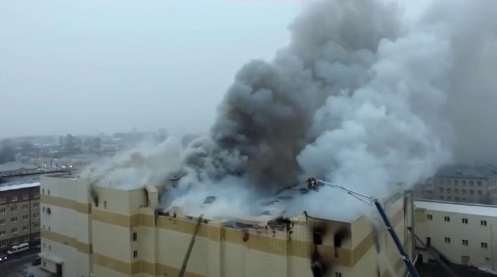 Возросло  количество погибших впожаре  вТЦ вКемерово