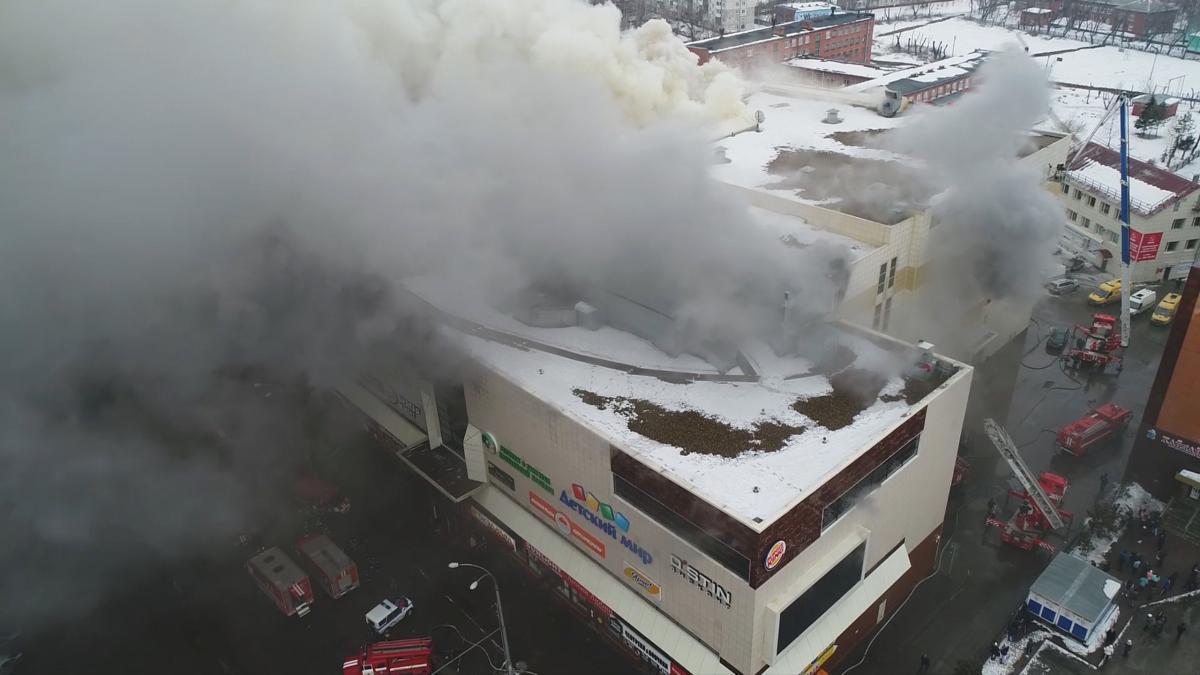 """Обвинувачений у справі про пожежу в """"Зимовій вишні"""" спробував скоїти суїцид в СІЗО / REUTERS"""