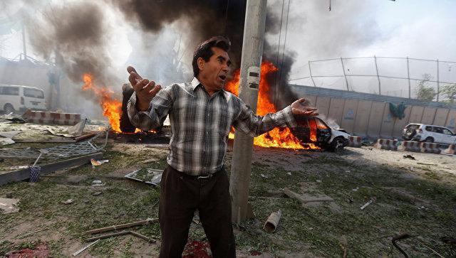 В Афганистане близ мечети прогремел взрыв / 5 канал