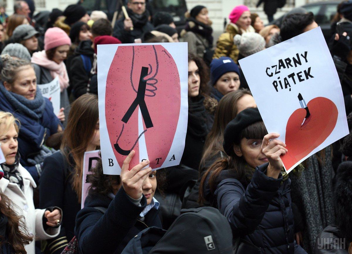 В Польше запретили аборты 27 января /фото УНИАН