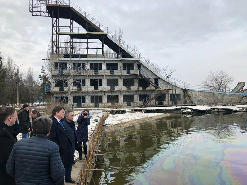 На реконструкцию трамплина для фристайла в Николаеве потребуется около 20 млн гривен / facebook.com