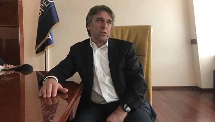 Президент УПЛ Томас Грімм / ua.tribuna.com