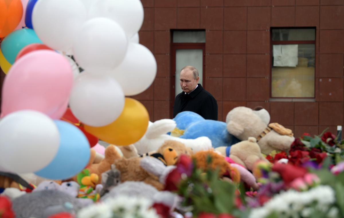 Мизулина выразила сожаления Путину всвязи с катастрофой вКемерове