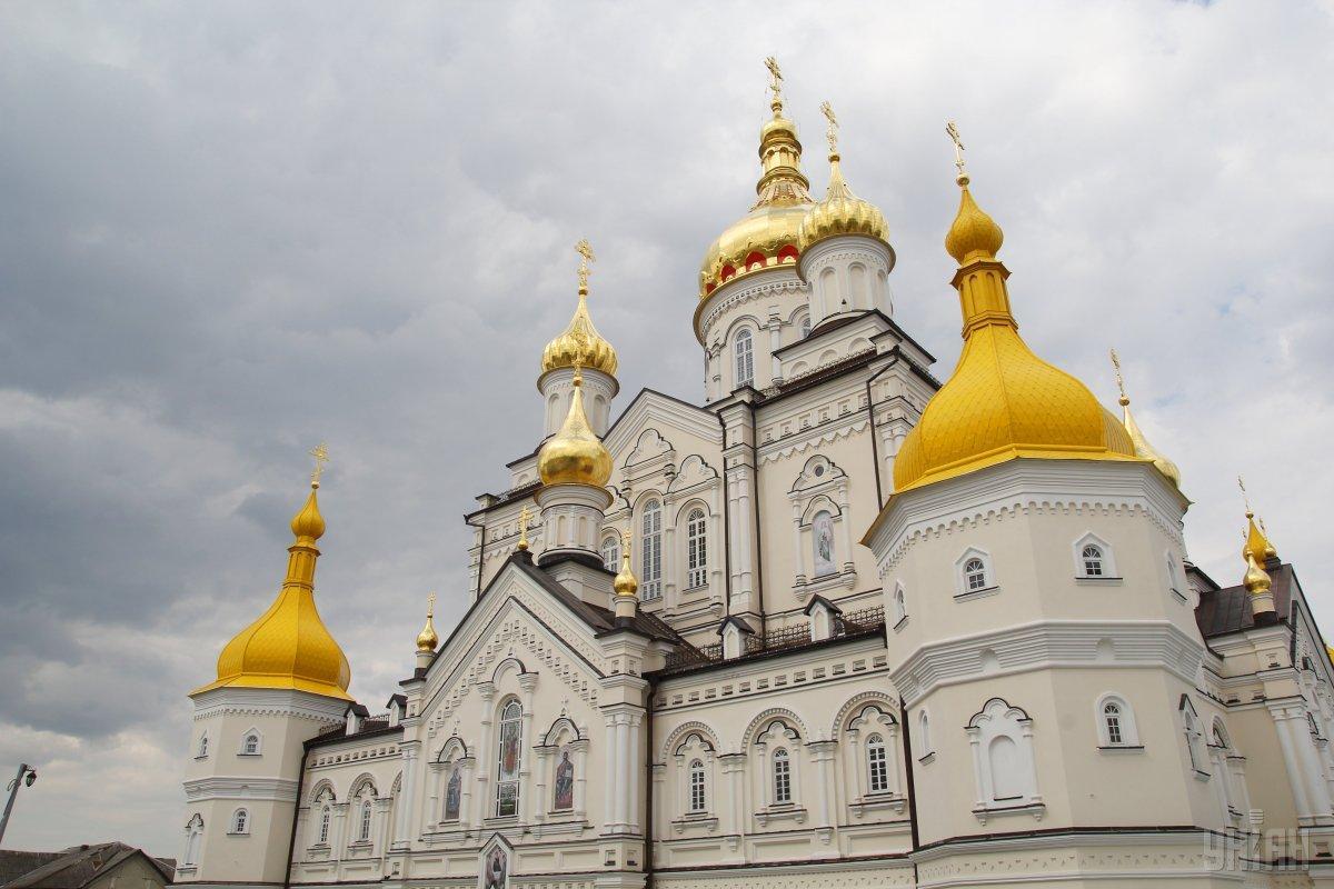 Сооружения Почаевской Лавры передали в пользование УПЦ МП до 2052 года / фото УНИАН