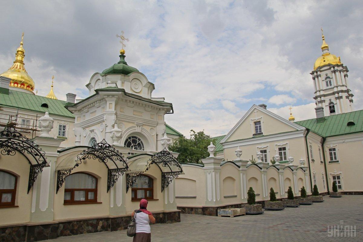 Почаевская лавра в Тернопольской области / УНИАН