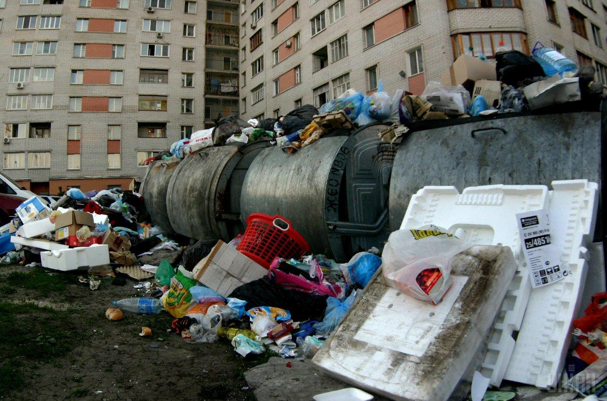 В Донецке жалуются на некачественную уборку мусора / фото УНИАН