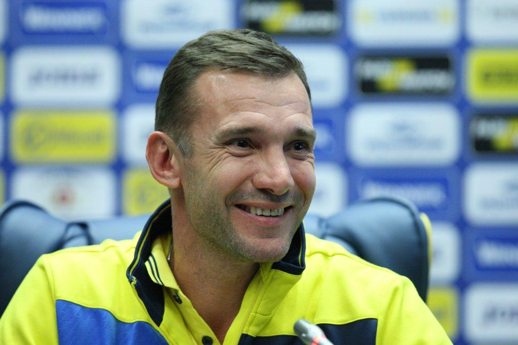 Шевченко задоволений діями команди в матчі з Японією / ffu.ua