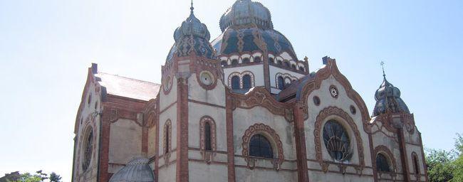 Синагога в Суботице побудована в 1902 році в стилі ар-нуво / wikipedia.org