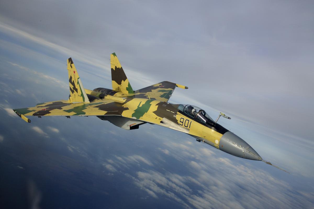 Россия уже начала производство истребителей Су-35 для Египта \ фото pogled.info