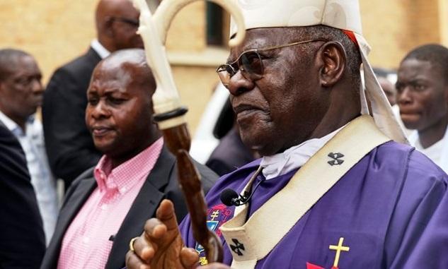 Кардинал Лоран Монсенгво Пасинья / Reuters