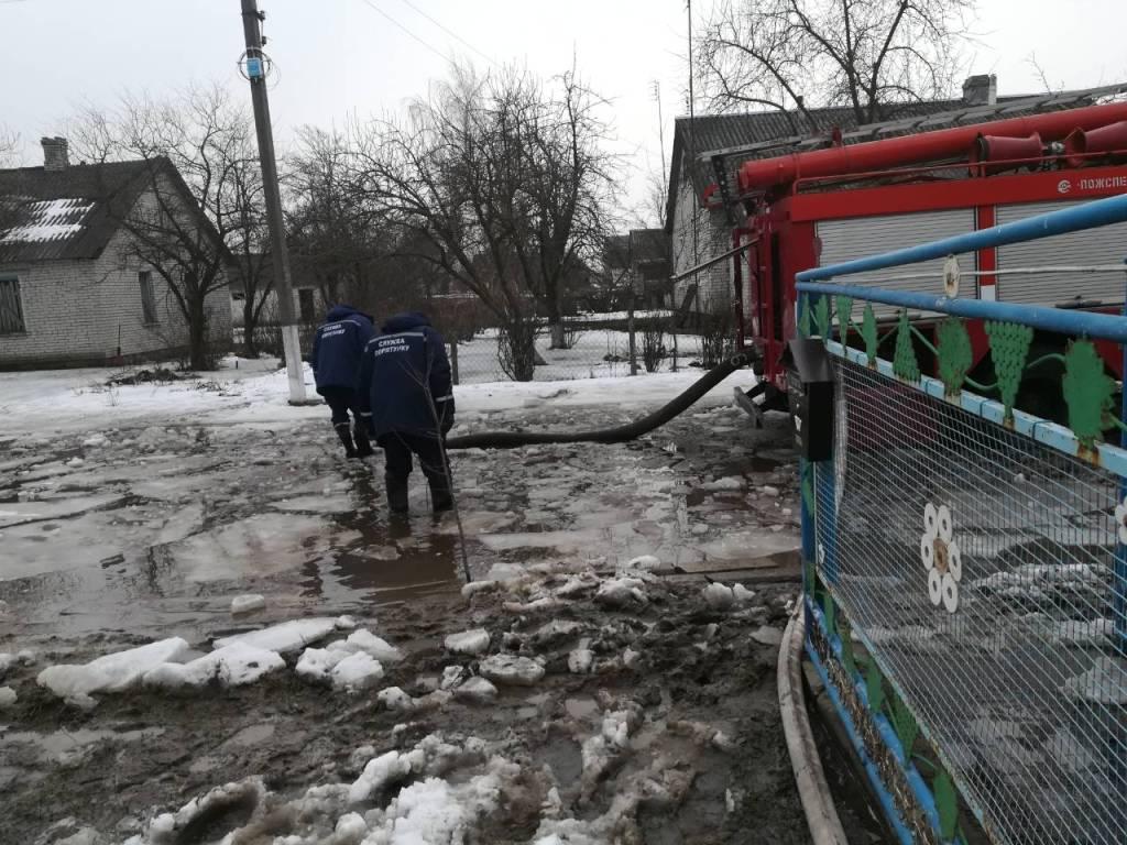 На Волині затопило п'ять присадибних ділянок / ДСНС