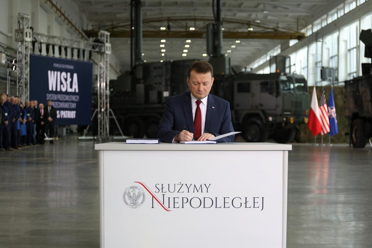 Министр обороны Польши Мариуш Блащак / REUTERS