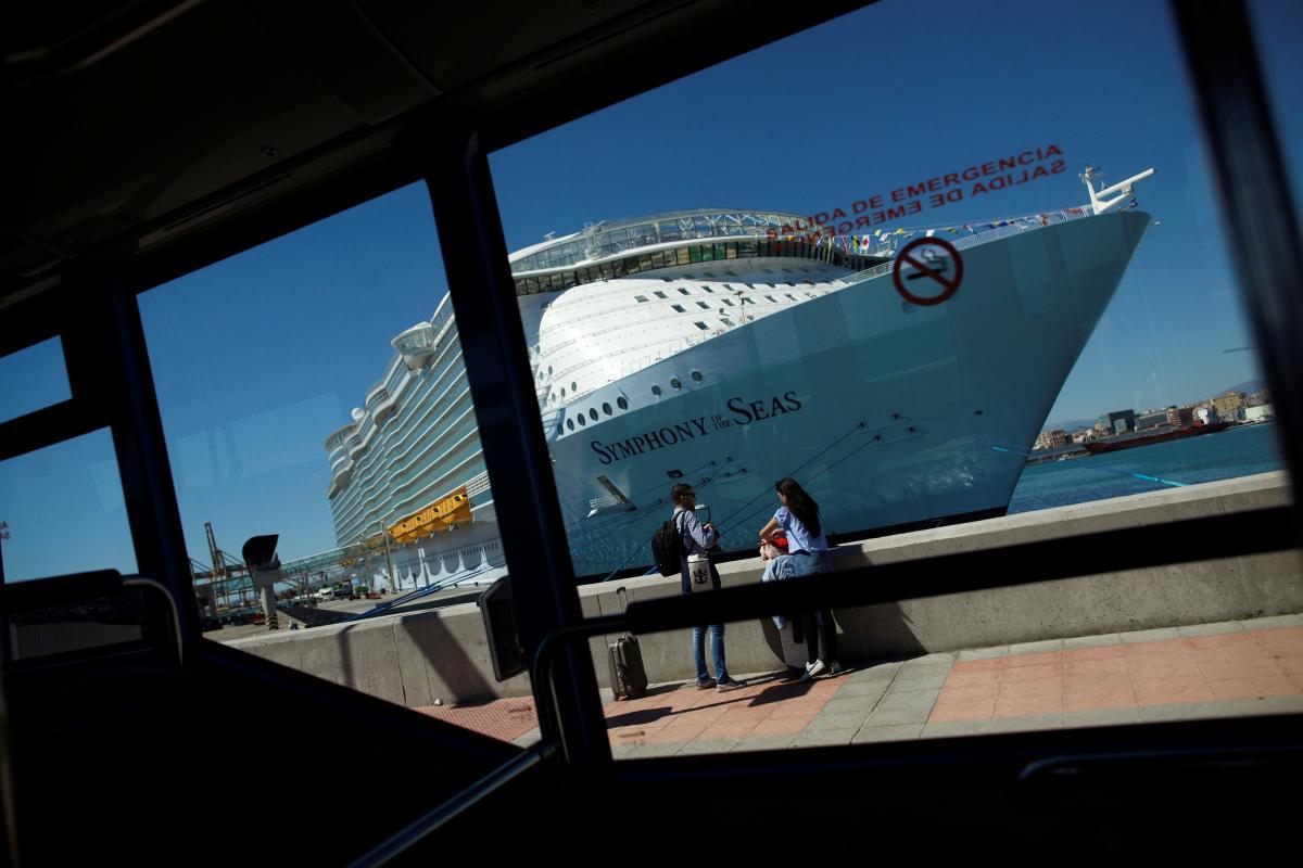 Наибольший круизный лайнер вмире показали вИспании