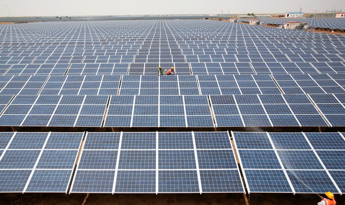 Солнечная электростанция /REUTERS