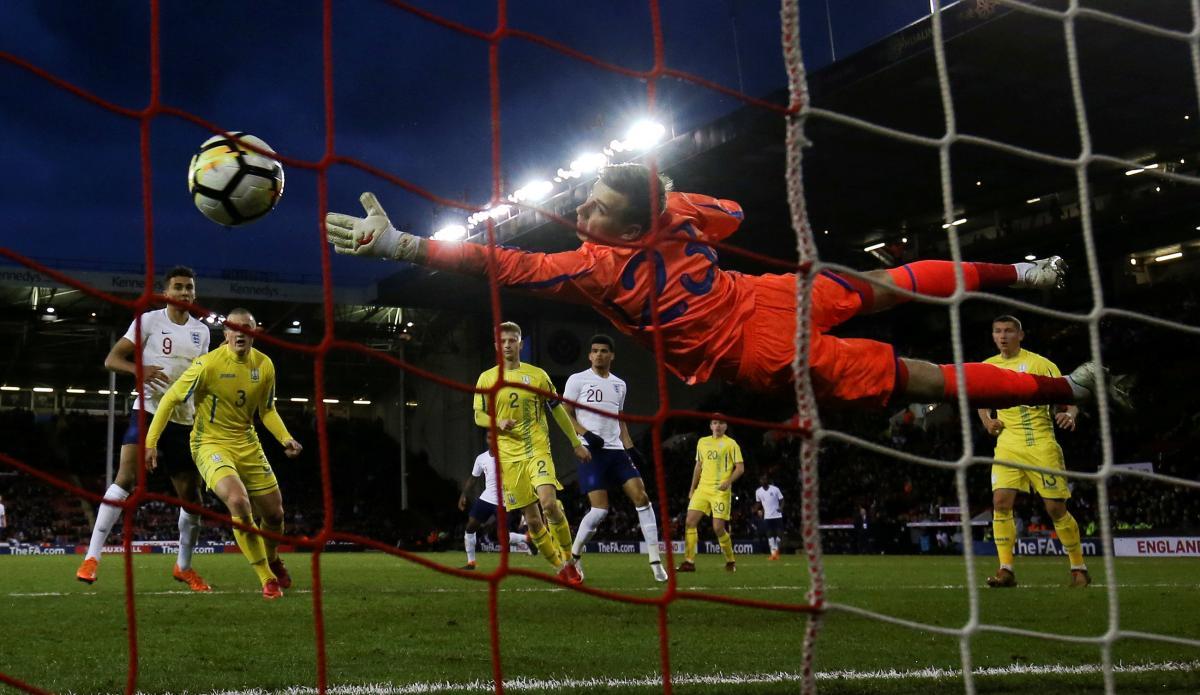Матч квалификации чемпионата Европы U21 Англия-Украина / REUTERS