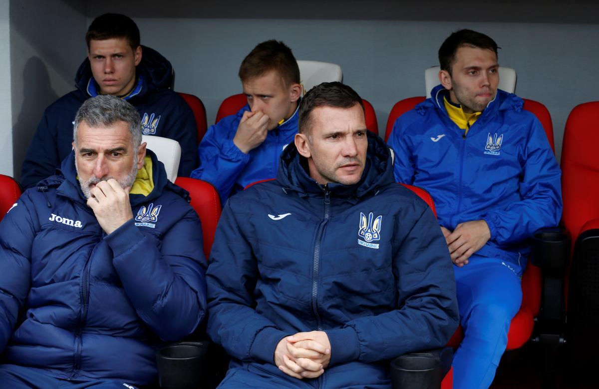 Тренерський штаб збірної України викликав на матчі з Чехією і Словаччиною 26 футболістів / REUTERS