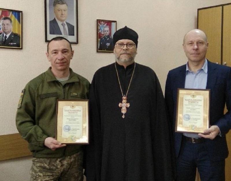 Военным медикам за жертвенное служение вручили грамоты / news.church.ua