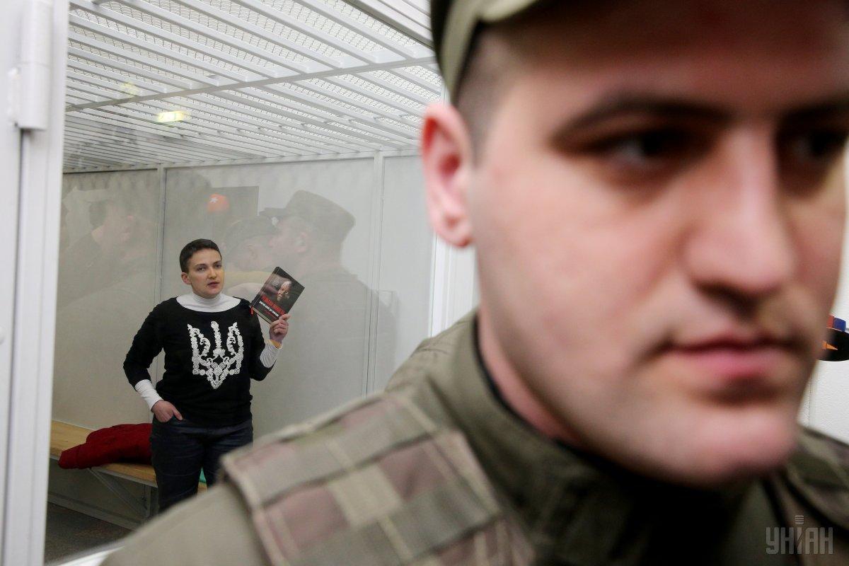 Савченко считает ситуацию с Сенцовим похожей на ту, что пережила она / Фото УНИАН