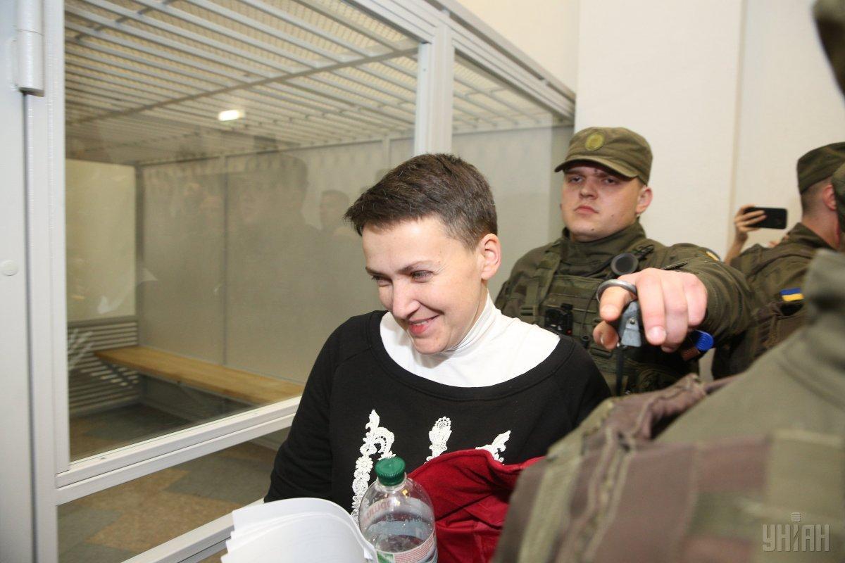 Савченко придется сидеть под стражей минимум до 20 мая / Фото УНИАН