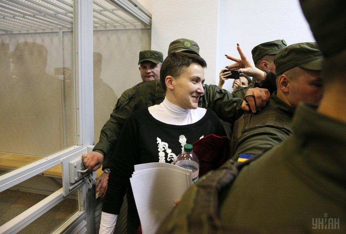 Защитники Савченко возмущены, что без них начали допрос / Фото УНИАН