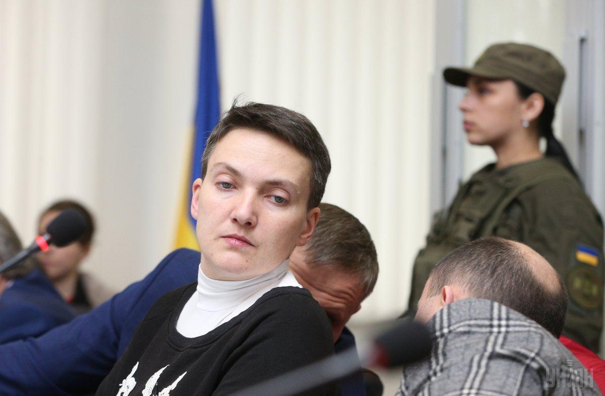Савченко перевірять на детекторі / фото УНІАН