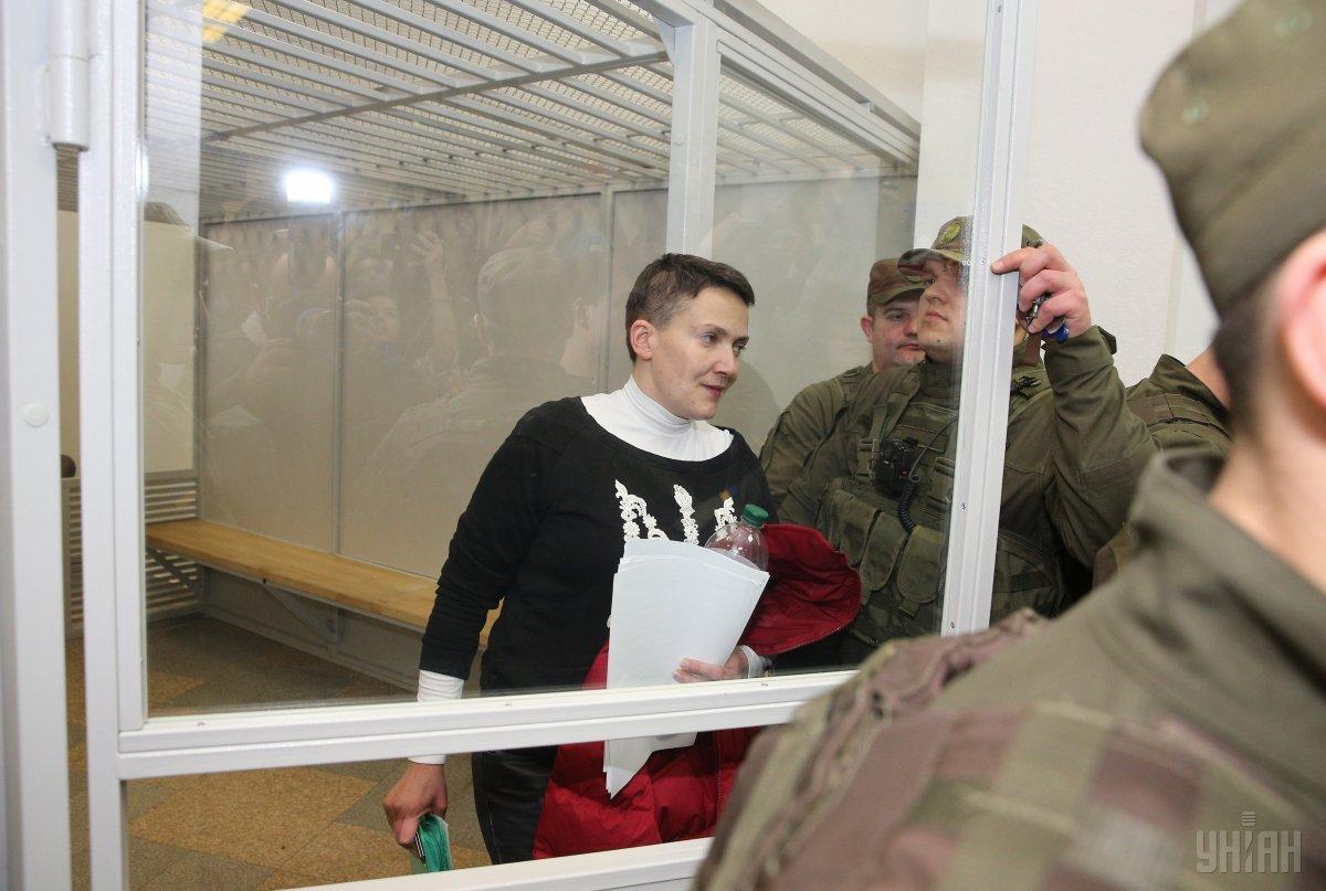 Савченко наконец прошла допрос на полиграфе, но есть нюансы / УНИАН
